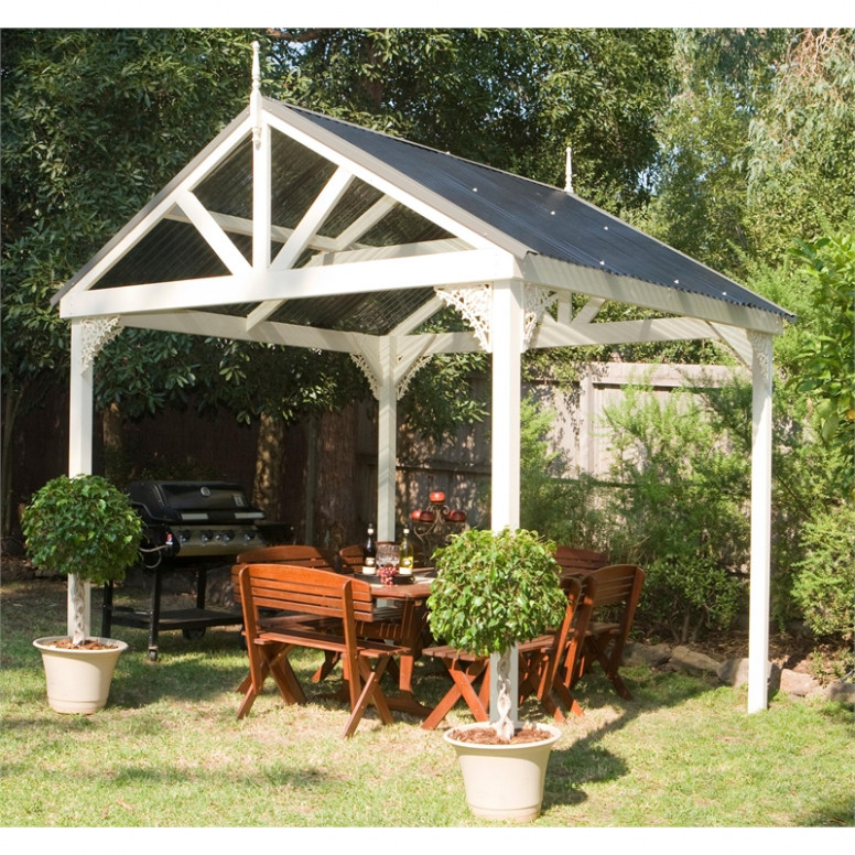 Cedar Shed Industries 3.0 X 3.1 X 3.0m Polycarbonate Roof ..