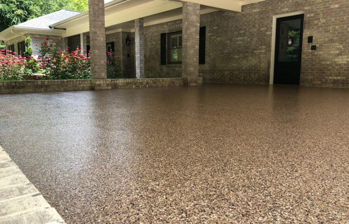 Charlotte | Granite Garage Floors Carport Garage Floor