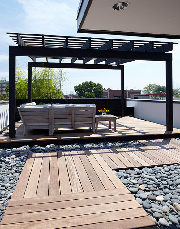 Chicago Modern House Design Amazing Rooftop Patio ..