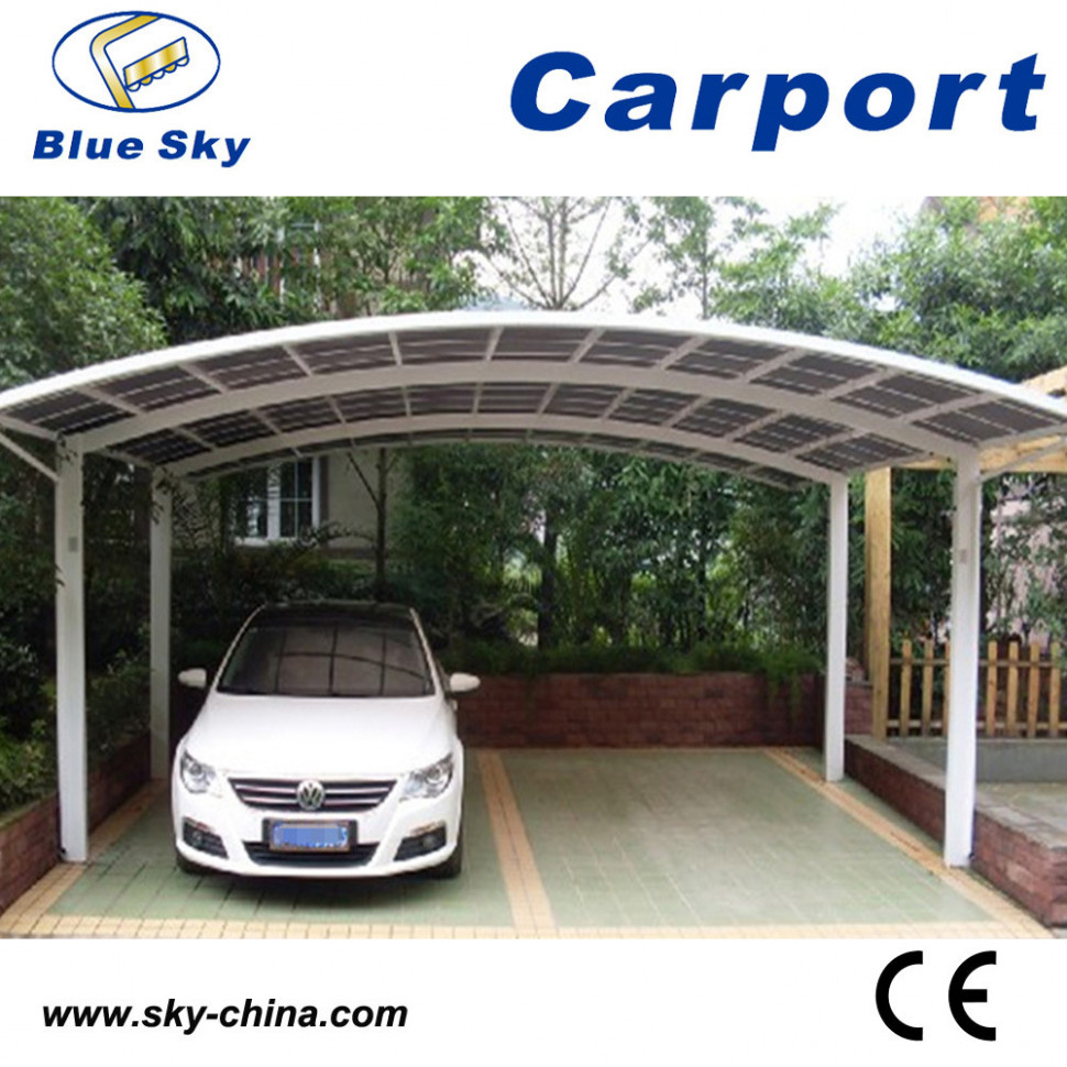 China Durable Aluminum Polycarbonate Car Garage For ..
