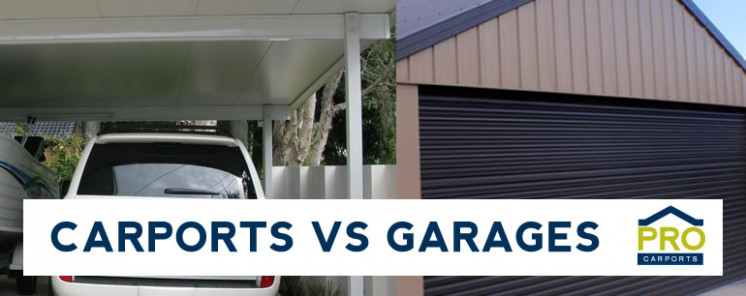 Choosing Between Carports Or Garages? | Pro Carports Brisbane Garage Carport Manufacturer