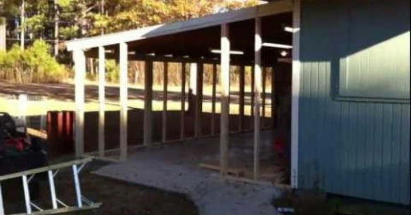 Close In A Carport 1/4 | Home Projects | Pinterest ..