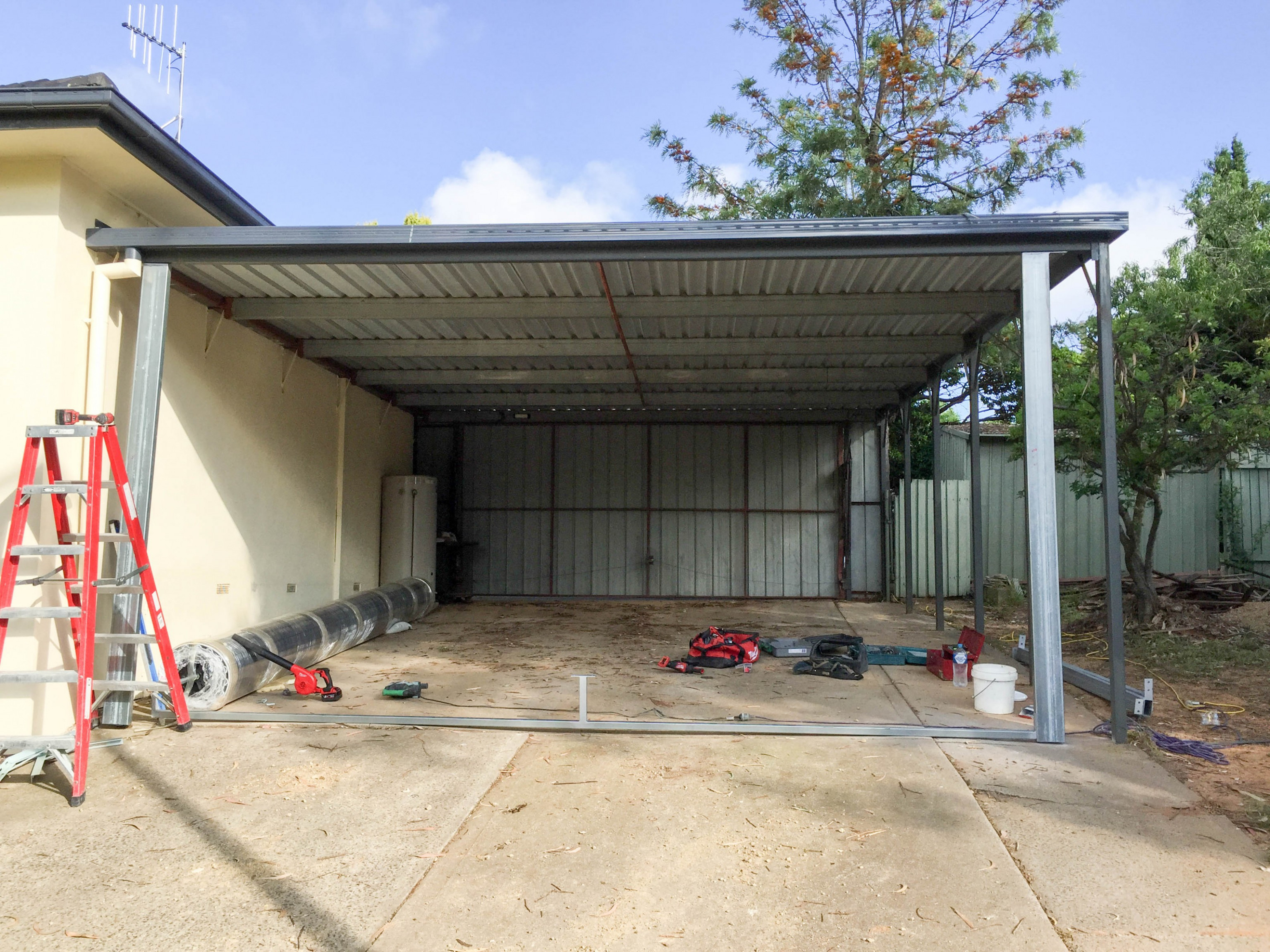Closing In A Carport Wooden Carports Ideas