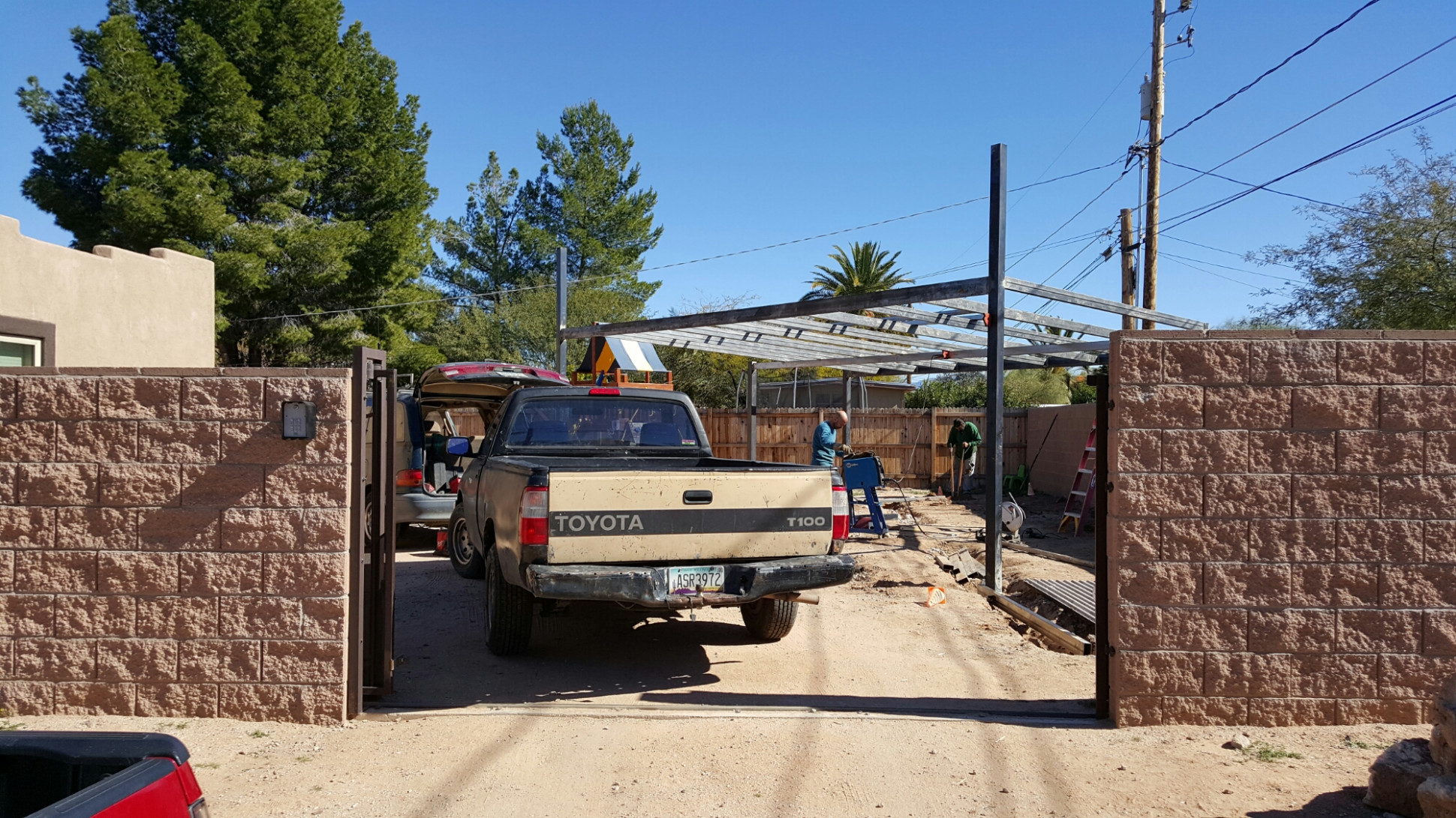 Combined Carport and Storage Shed – Grow with the Flow ...