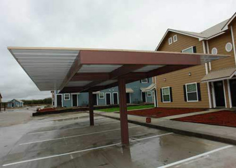 Commercial Carports And Covered Parking Structures Carport Valet Parking