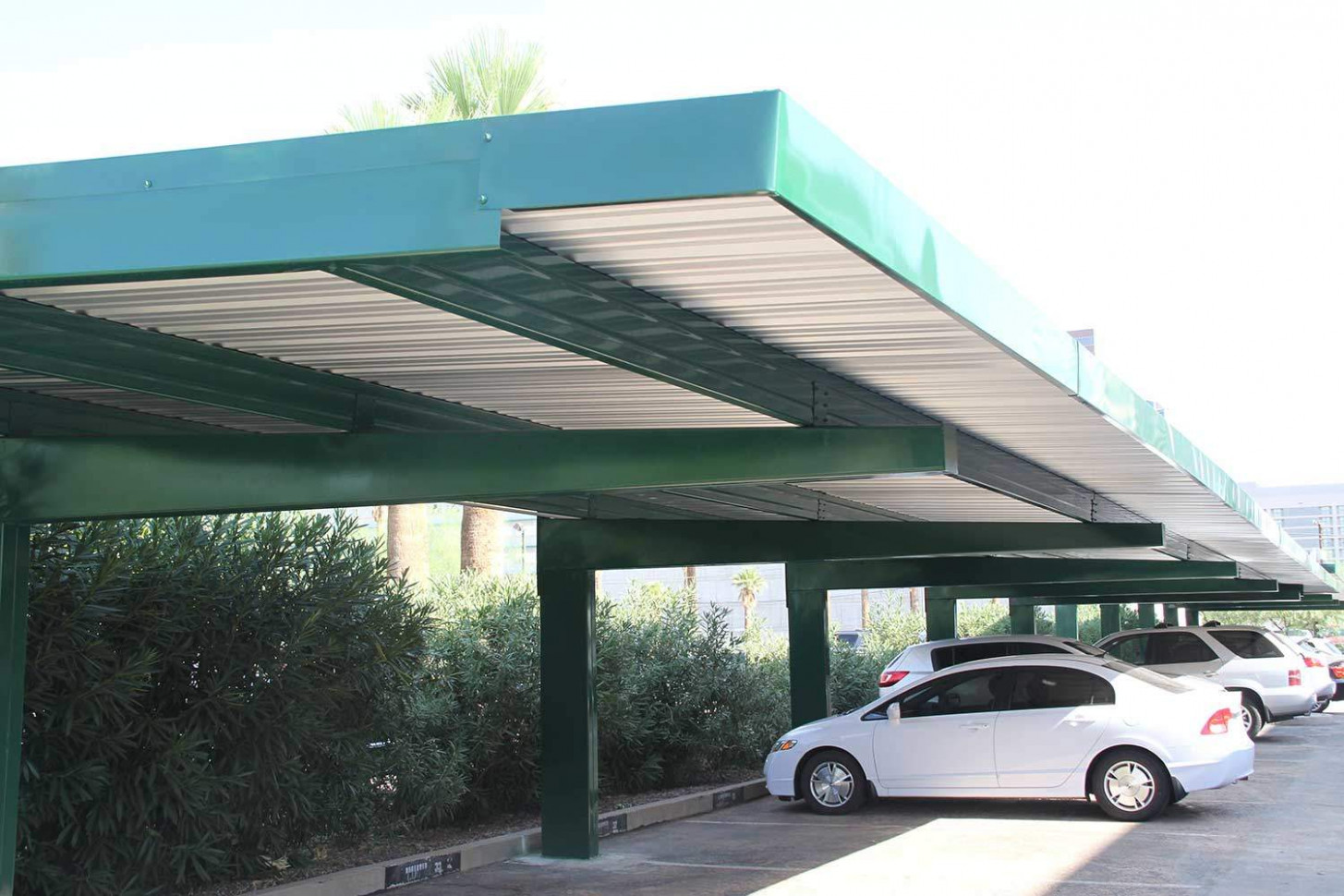 Commercial Carports and Covered Parking Structures