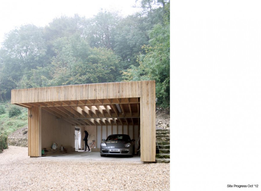 Conkwell Garage Feilden Fowles Architects Contemporary ..