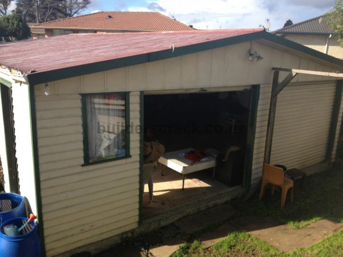 Conversion Of Garage To Sleep Out (# 42160) | Builderscrack Convert Carport To Garage Nz