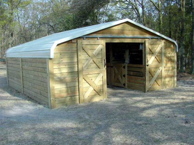 Convert A Carport Into A Barn! The Prepared Page How To Build A Carport Garage