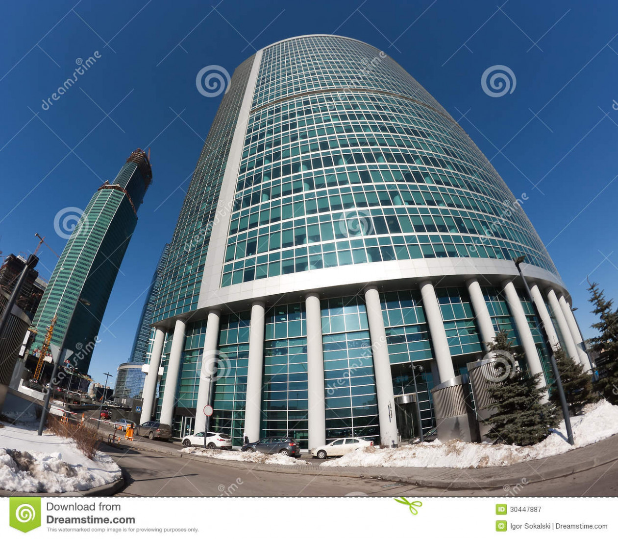 Corporate Office Skyscrapers Royalty Free Stock ..