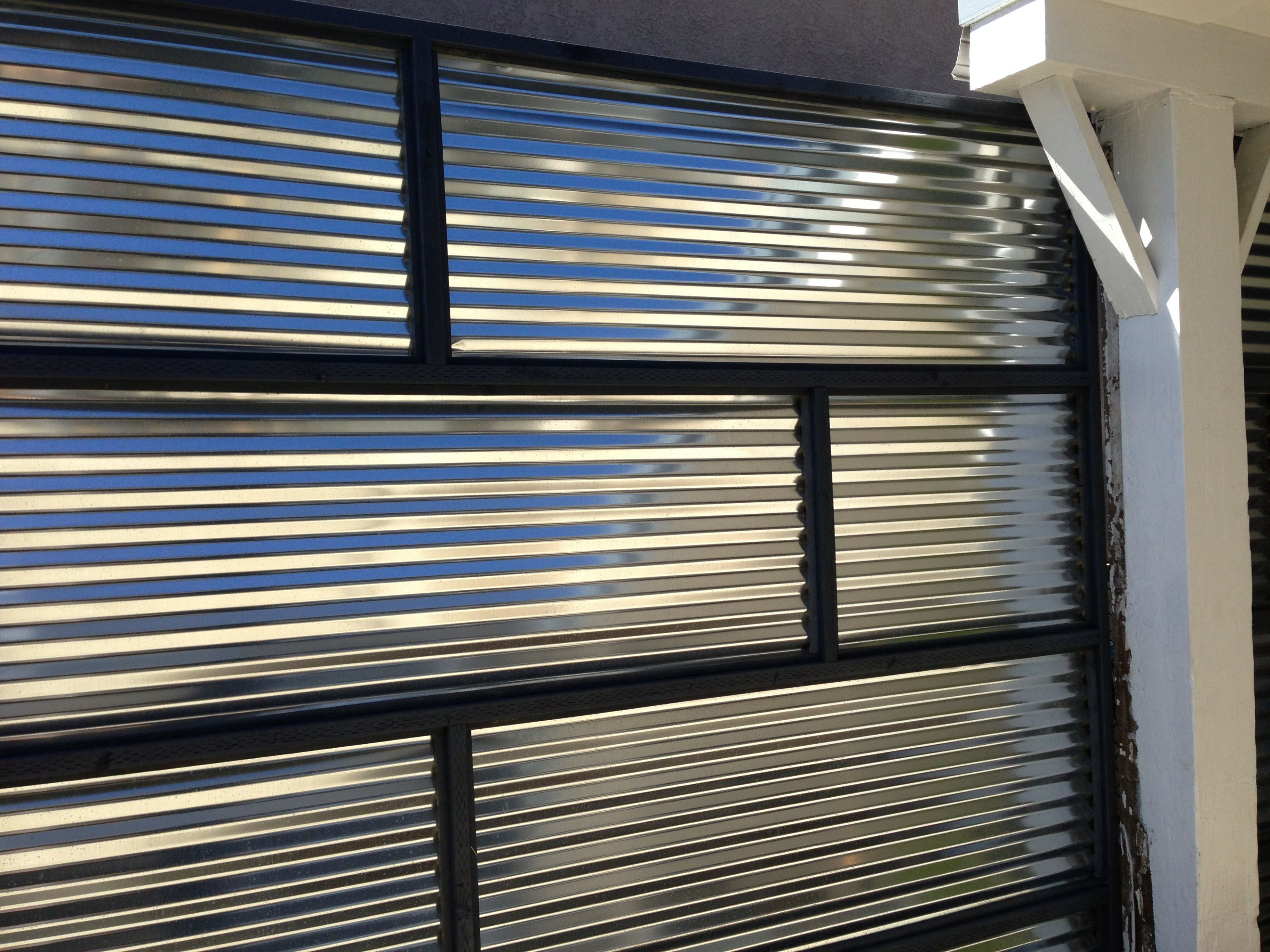 Corrugated Steel Fence/Carport Wall | Fencing | Fence Doors ..