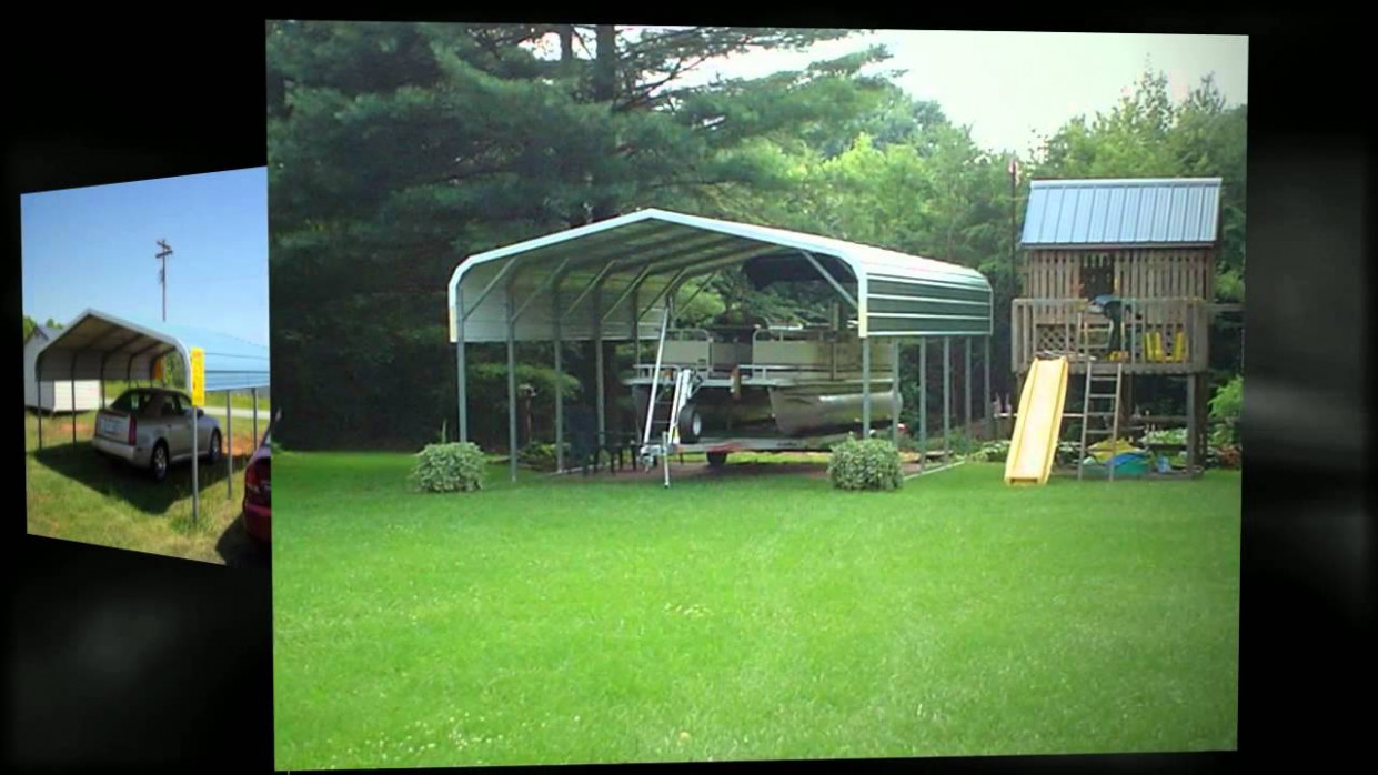 Curved Roof Carports From EZCarports