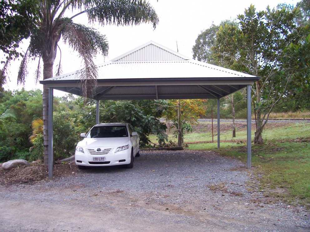 Custom Carports Australia Wide | Aussie Made Sheds Modern Steel Carport