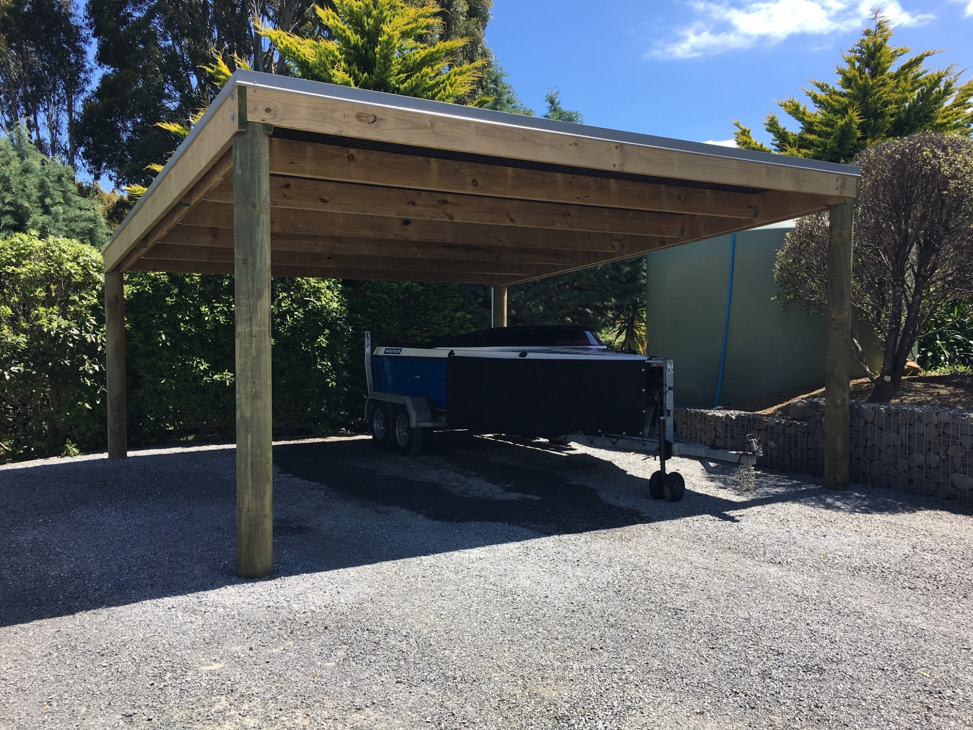 Custom Kitset Carports | Lifestyle Buildings | Sheds10U Flat Roof Carports For Sale