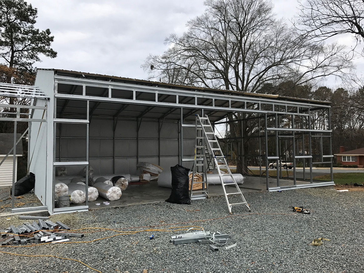 Custom Metal Buildings | Steel Garages | Utility Carports Carport Roof Over