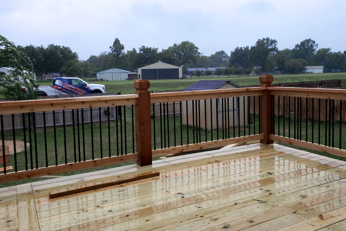 Deck Building – Wichita Roofing and Construction
