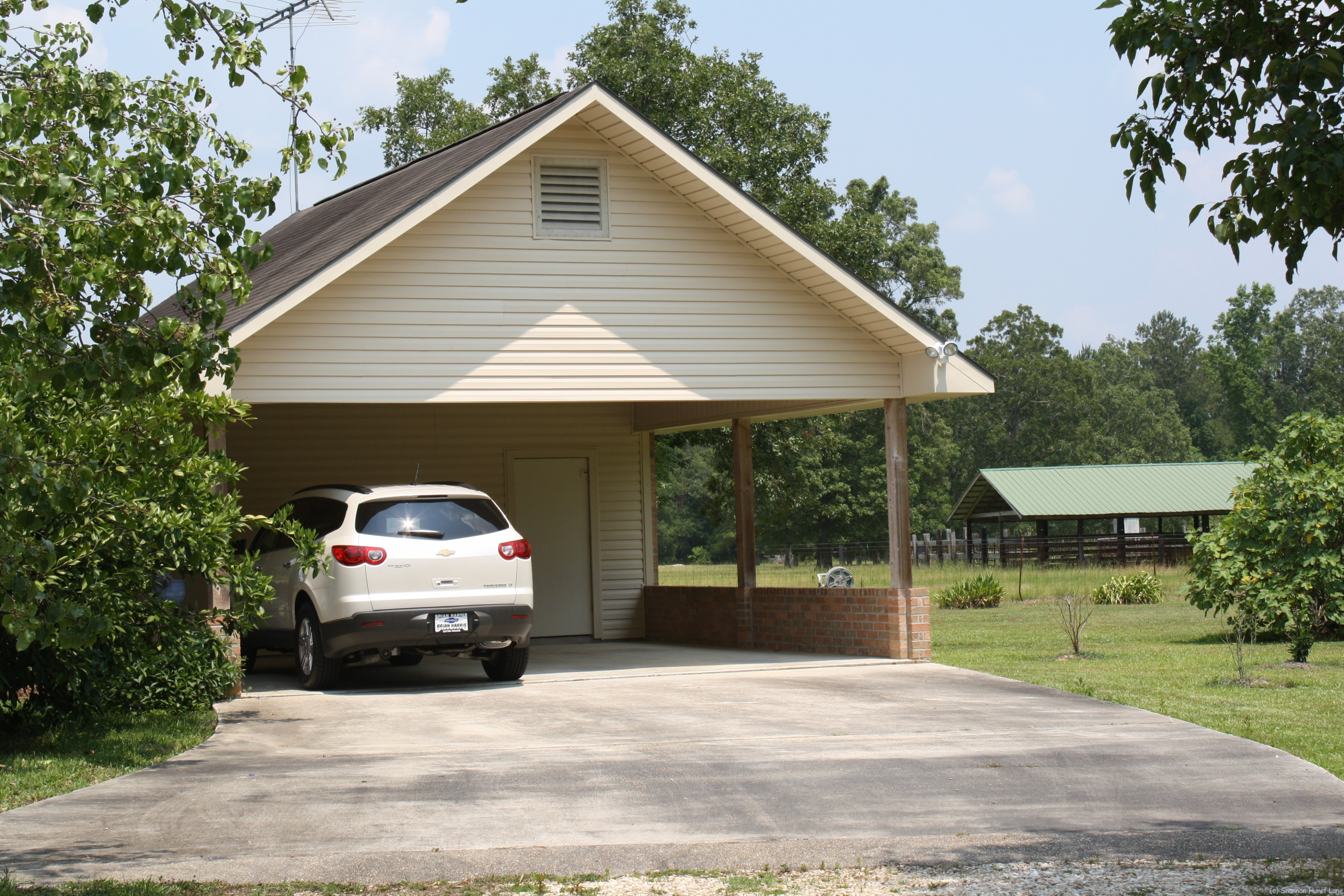 Decoration Ideas : Double Carport With Attic Storage And ..
