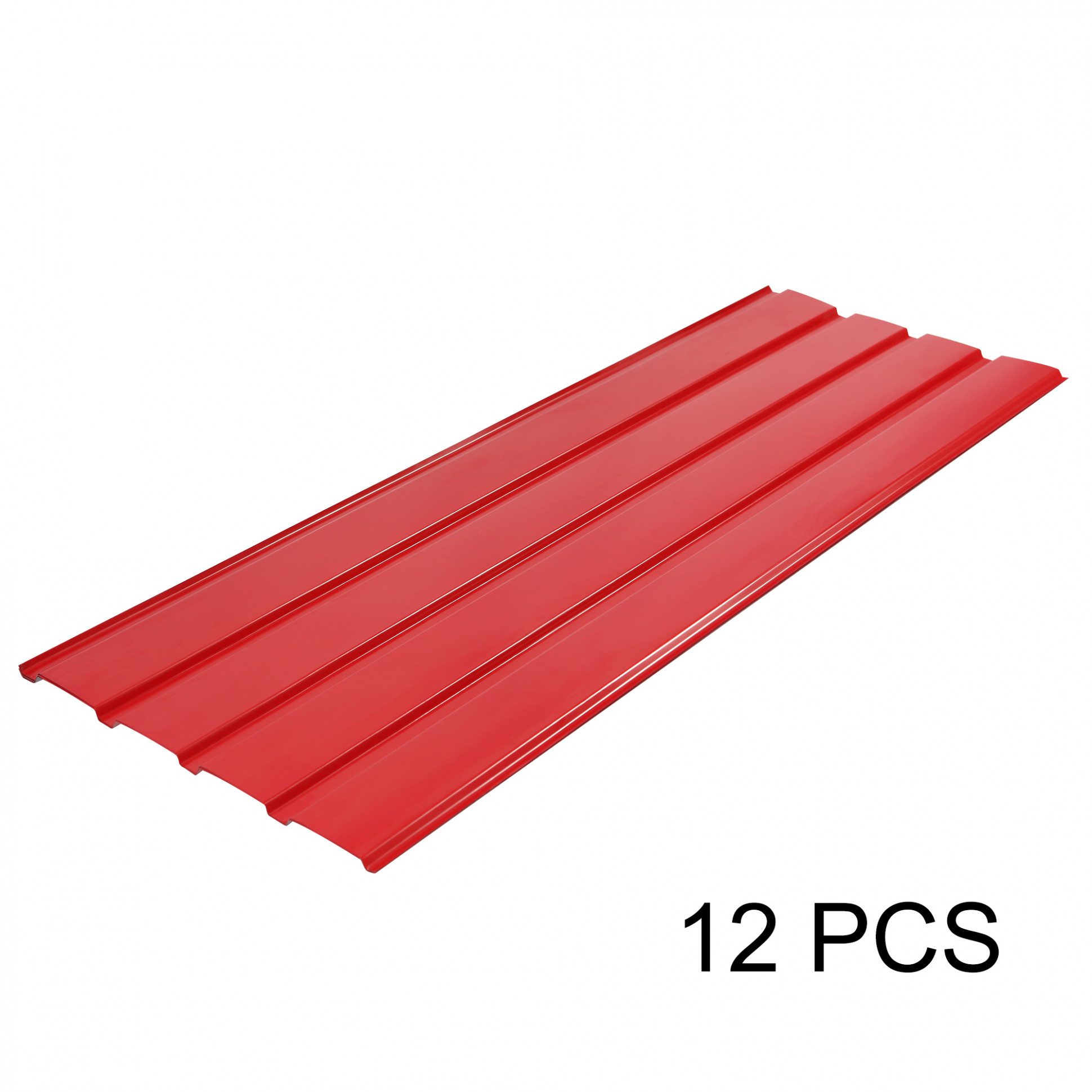 Details About 13 PCS Corrugated Roof Sheets Profile Galvanized Metal Roofing Carport Red Carport Roof Brackets