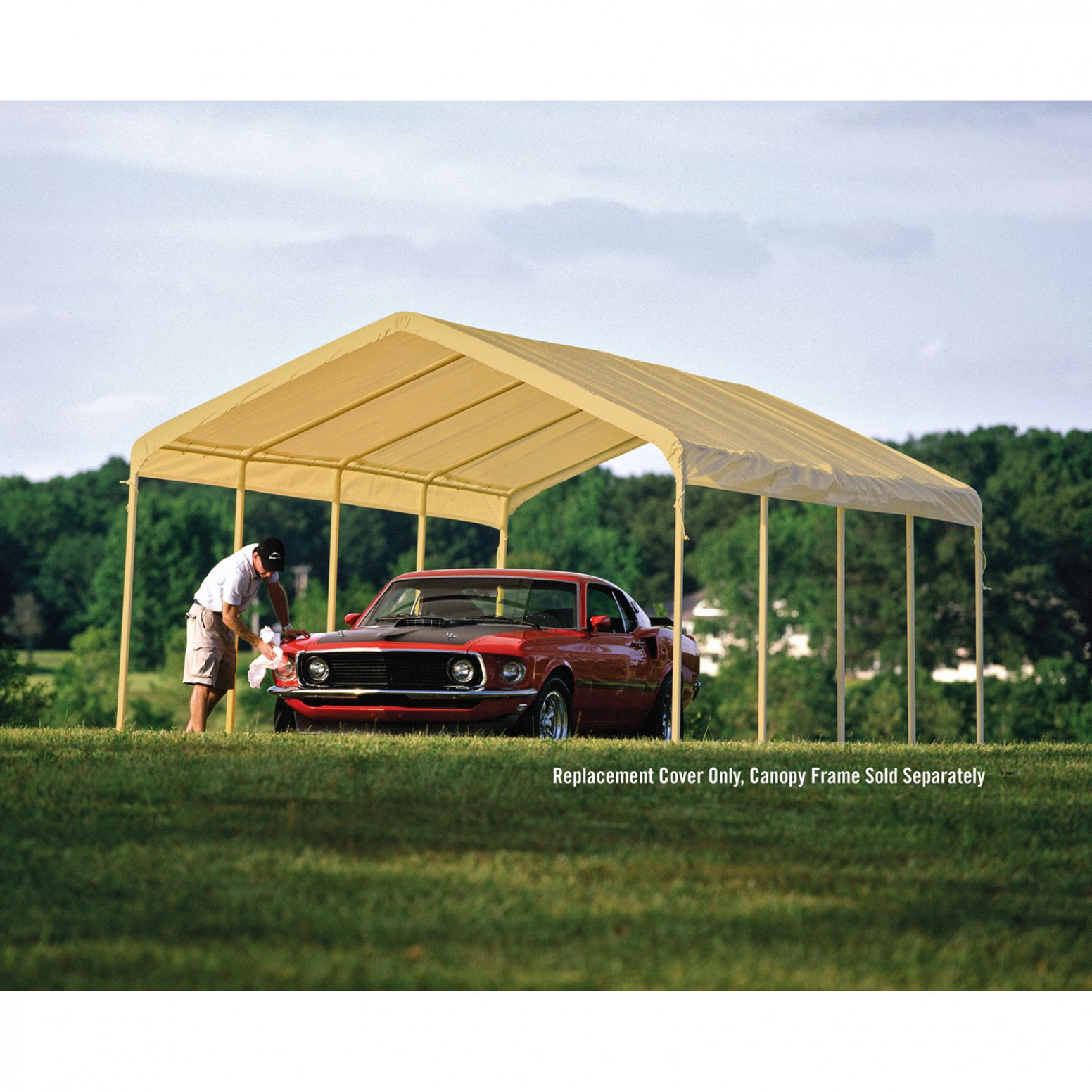 Details About 8 X 8 Ft Canopy Replacement Cover Waterproof Outdoor Shade Carport Gazebo Tent Carport Canopy Replacement Covers