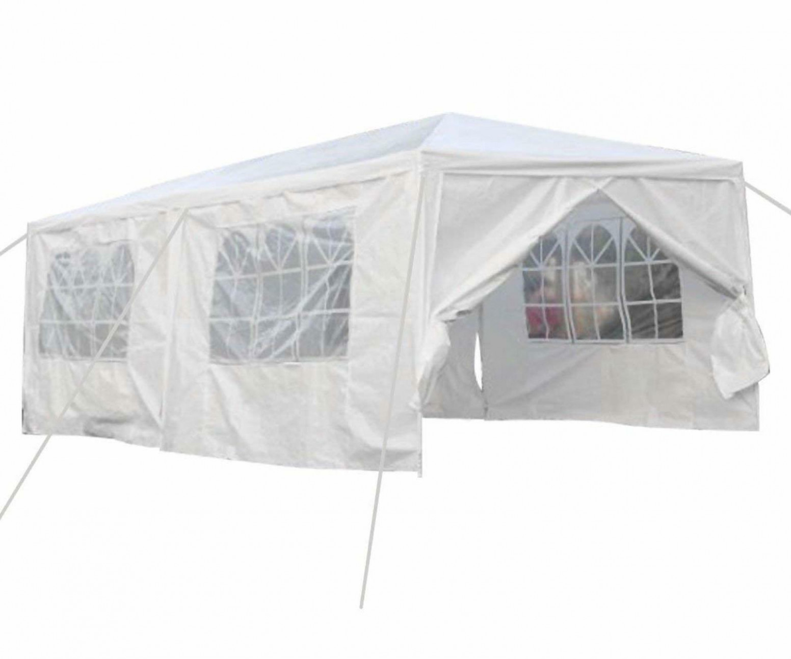 Details About 8 X 8 Ft Carport Canopy Tent With Sidewalls White Cover Car Portable Garage Black Carport Canopy