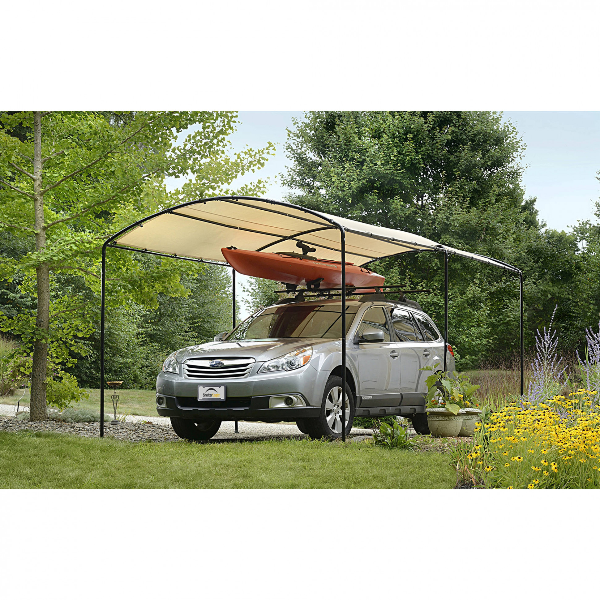 Details About Car Arch Canopy 11x11 Ft Carport Heavy Duty Waterproof UV Weather Rain Snow Sun Carport Canopy Snow