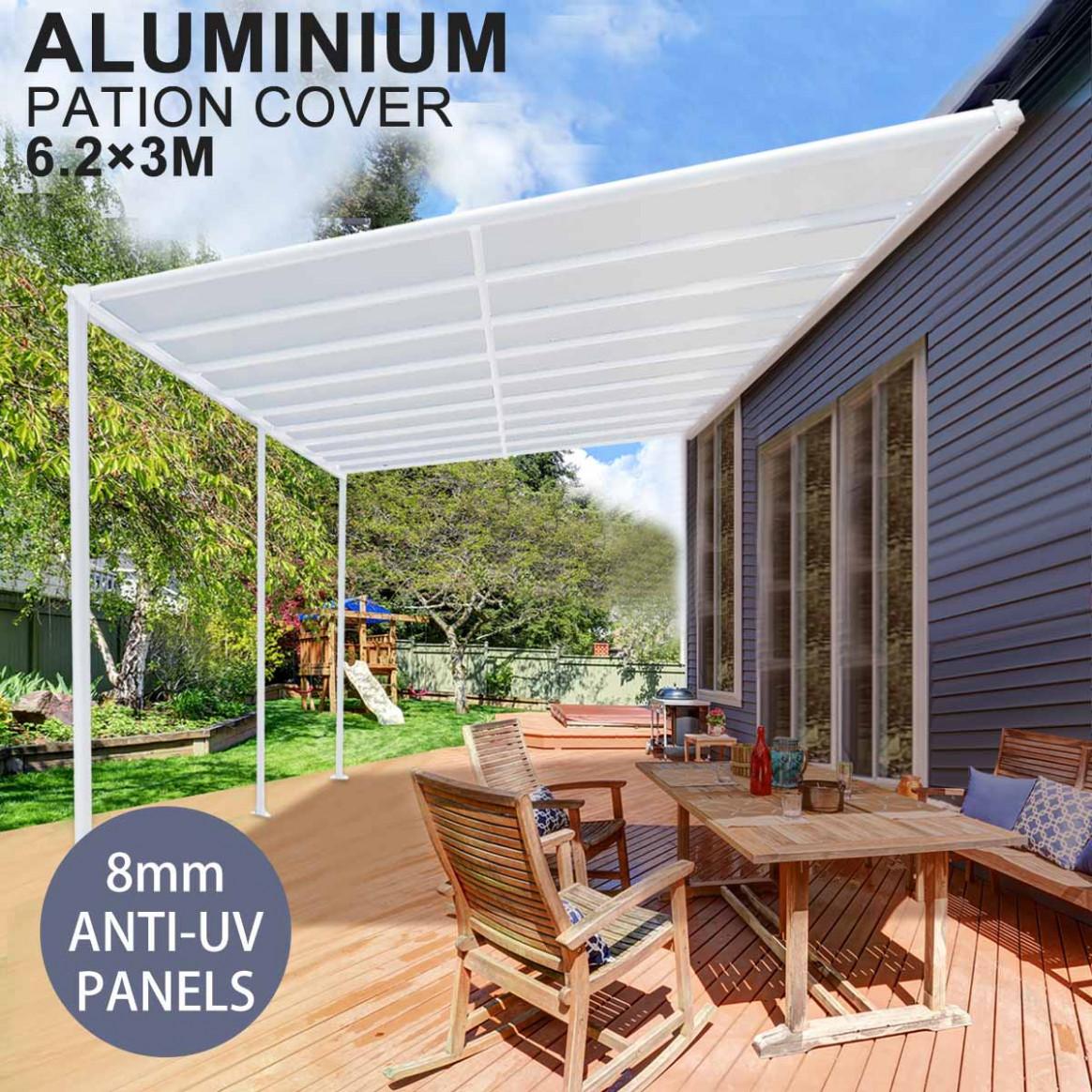 Details About DIY Pergola Roofing Patio Cover Kit 9