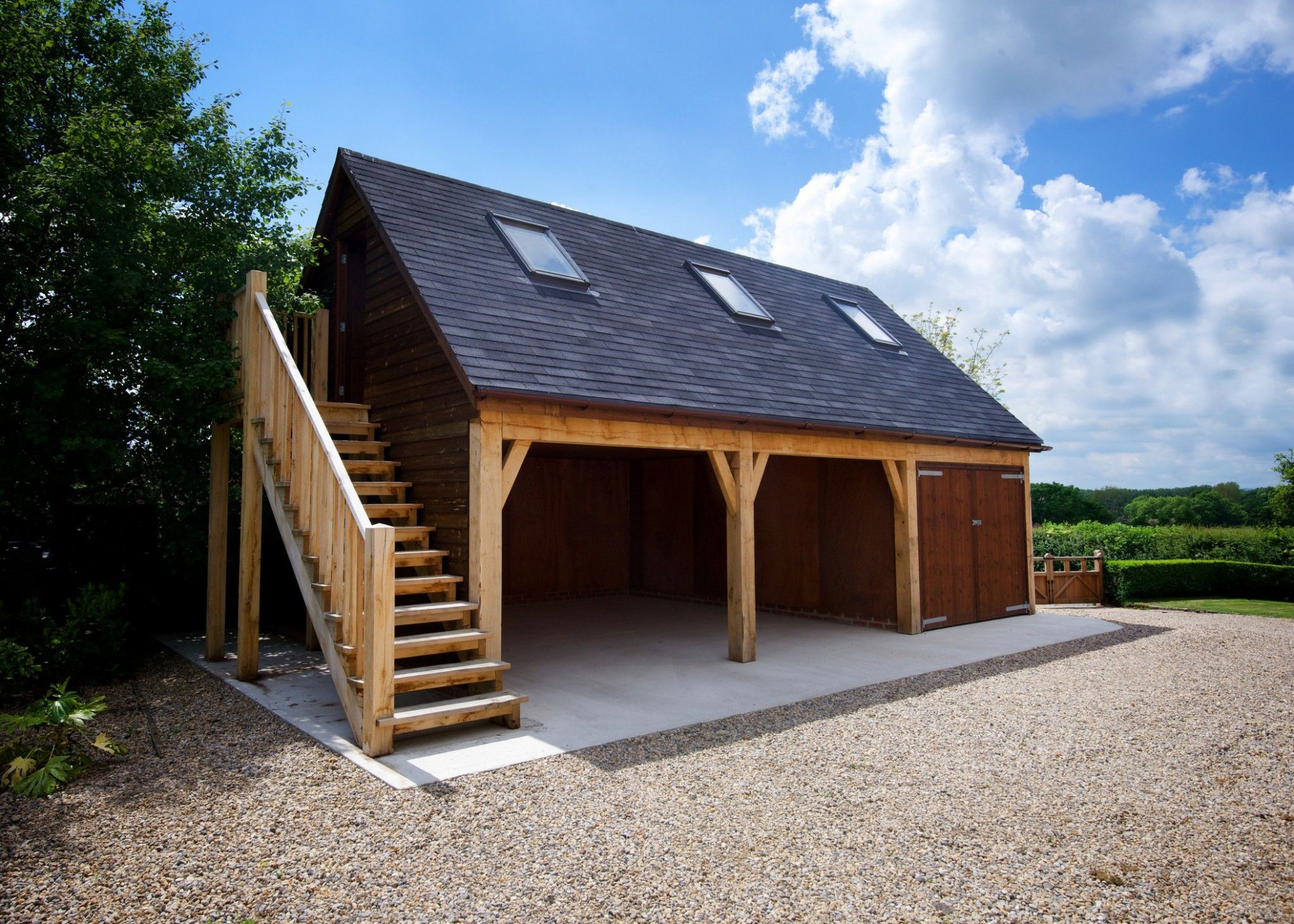 Discover How We Created A Bespoke Three Bay Timber Garage ..