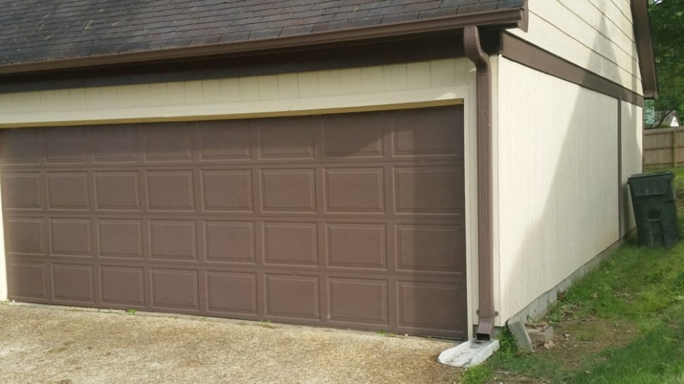 Dixie Door | Carport Enclosure Project Double Car Garage Door Enclosed Carport With Garage Door