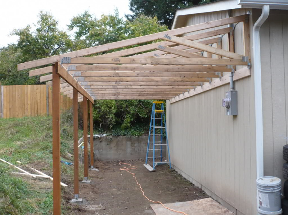 Diy Lean Carport Plans Pdf Cnc Machine Woodplans House ..