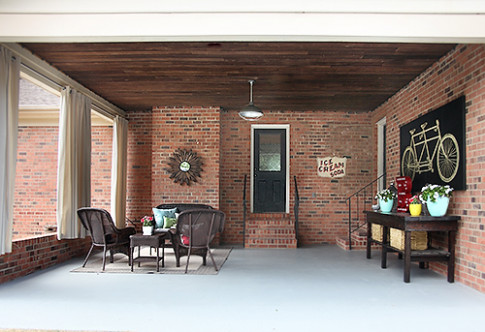 DIY OUTDOOR CURTAINS – 7th House On The Left Decorating A Carport Ideas