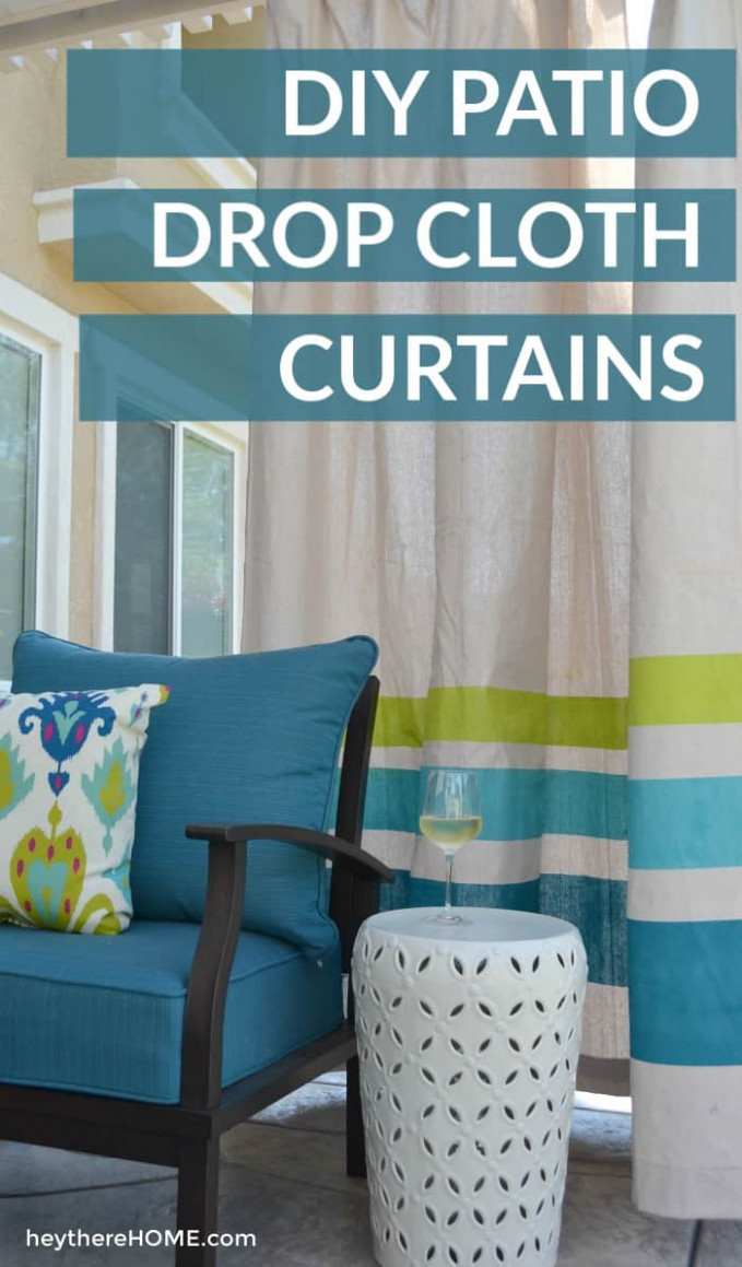 DIY Outdoor Curtains Tutorial | How To Make Outdoor Curtains ..