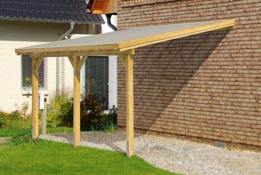 DIY Timber Supported Lean To Roof Kit** 6M Wide 3M Long ..
