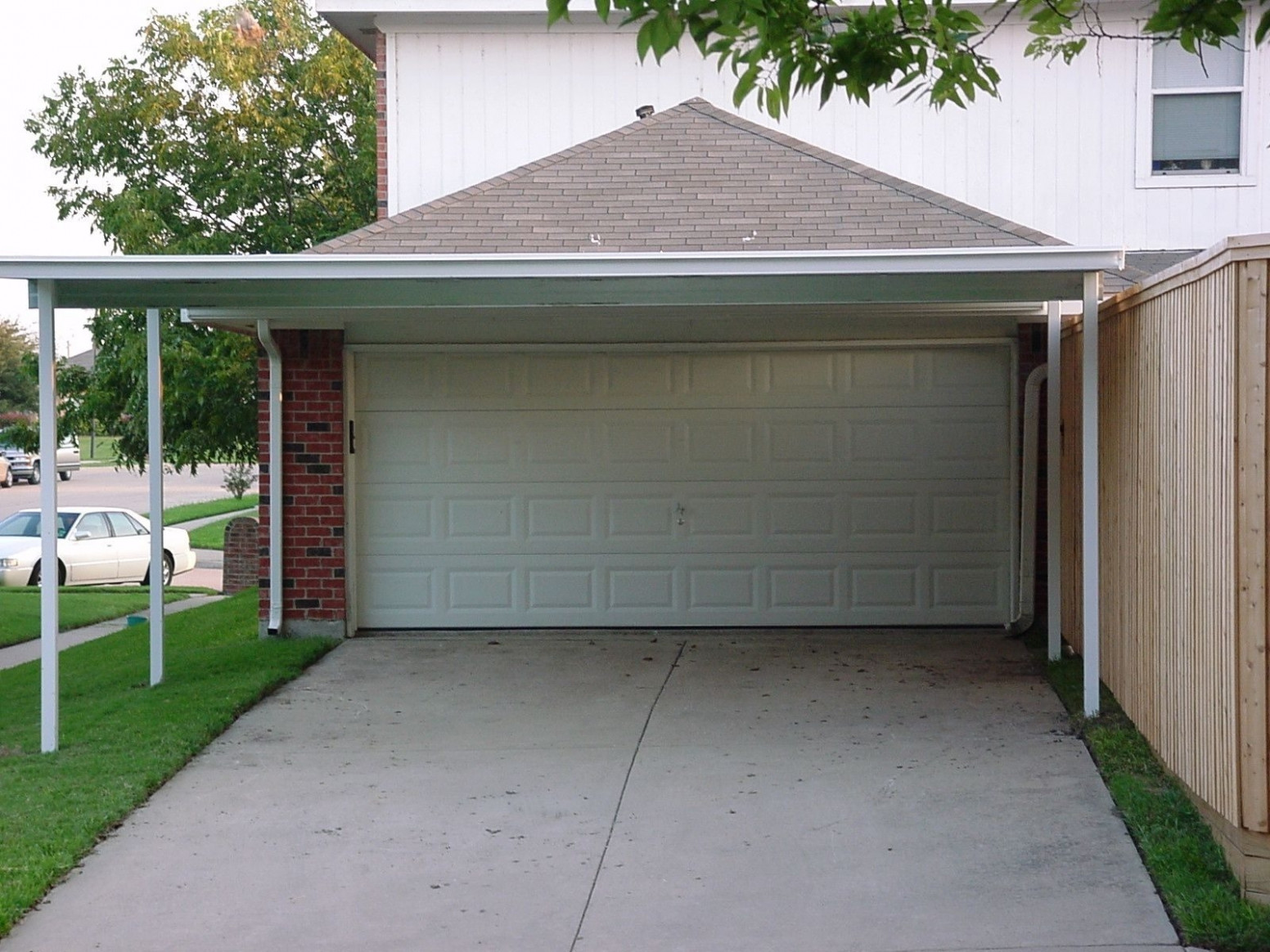 Double Carport Attached To House 11X11 Modern Home Patio ..