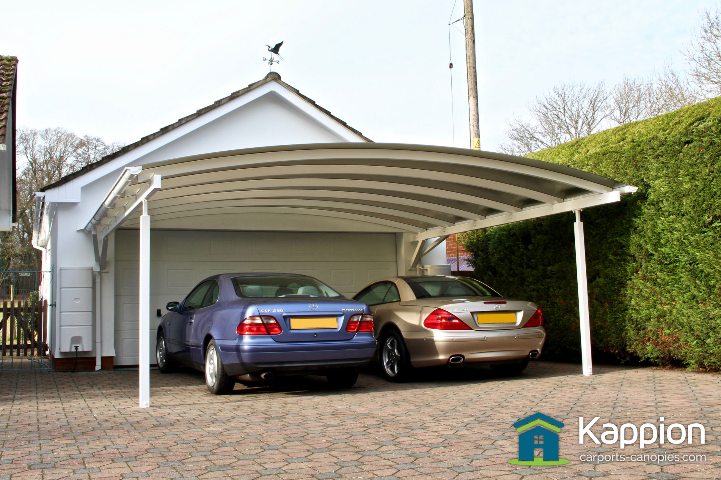 Double Carport Canopy Installed In Salisbury | Kappion ..