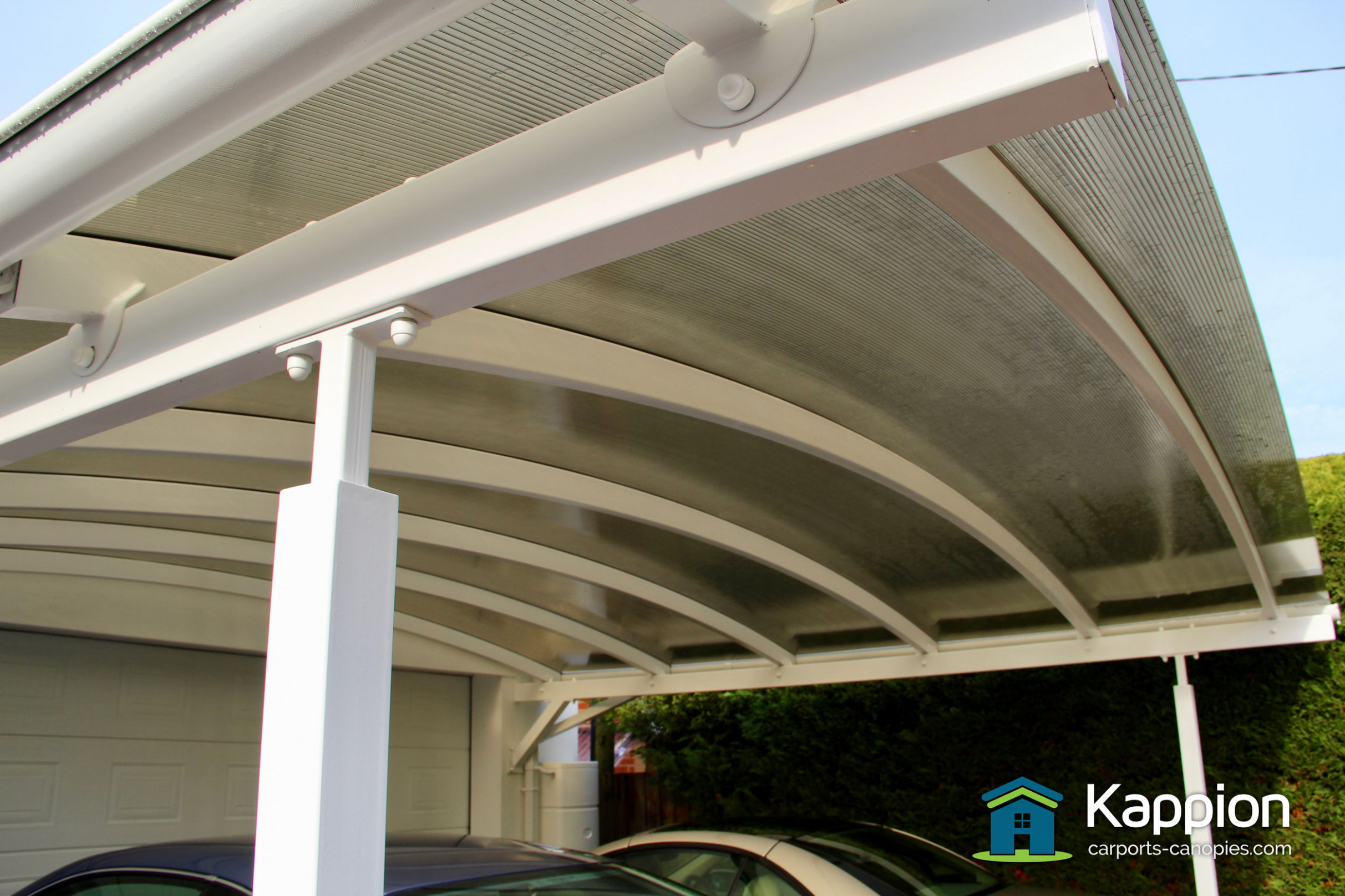 Double Carport Canopy Installed in Salisbury | Kappion ...