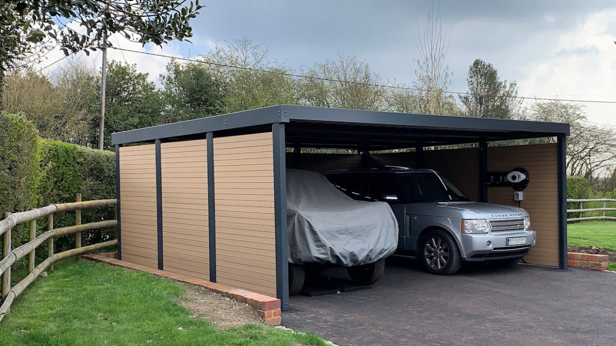 Double Carport For Classic Car Enthusiast: Carport By ..