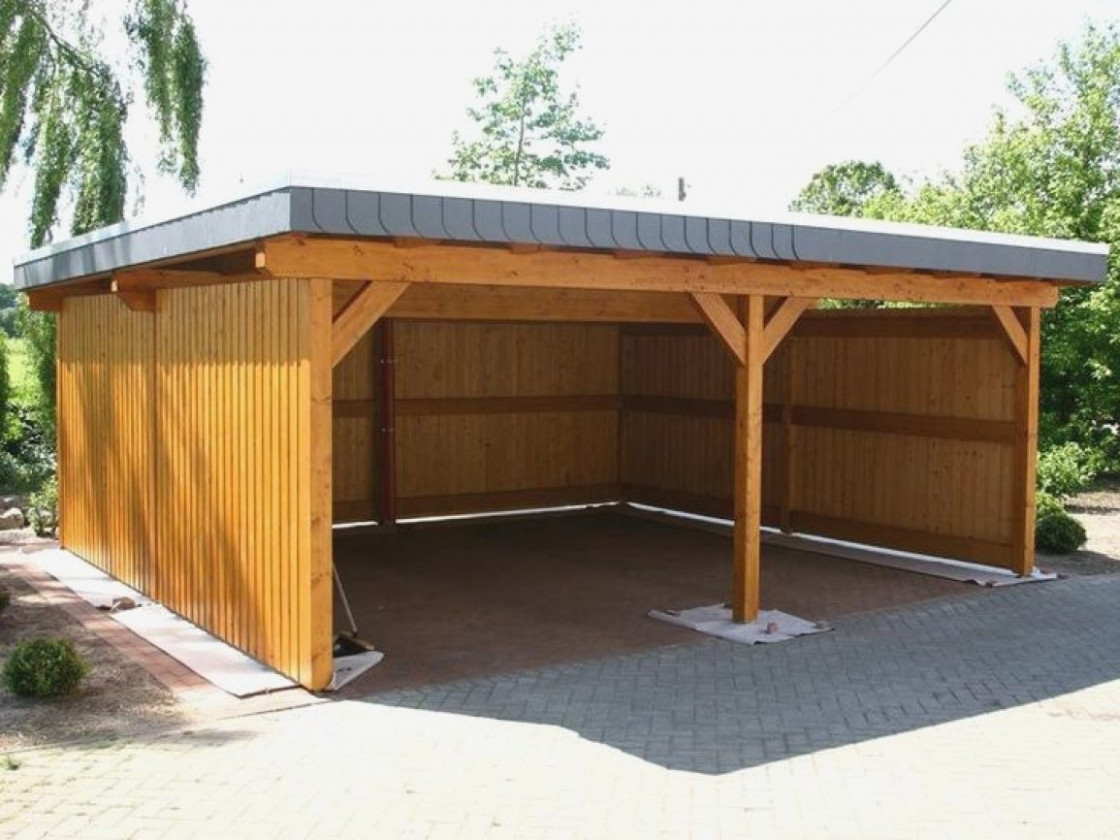 Double Carport Plans Awesome Modern Best 7 Ideas On ..