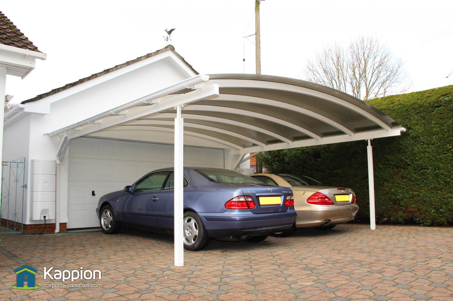 Double Carport The Ultimate Two Car Canopy | Kappion ..