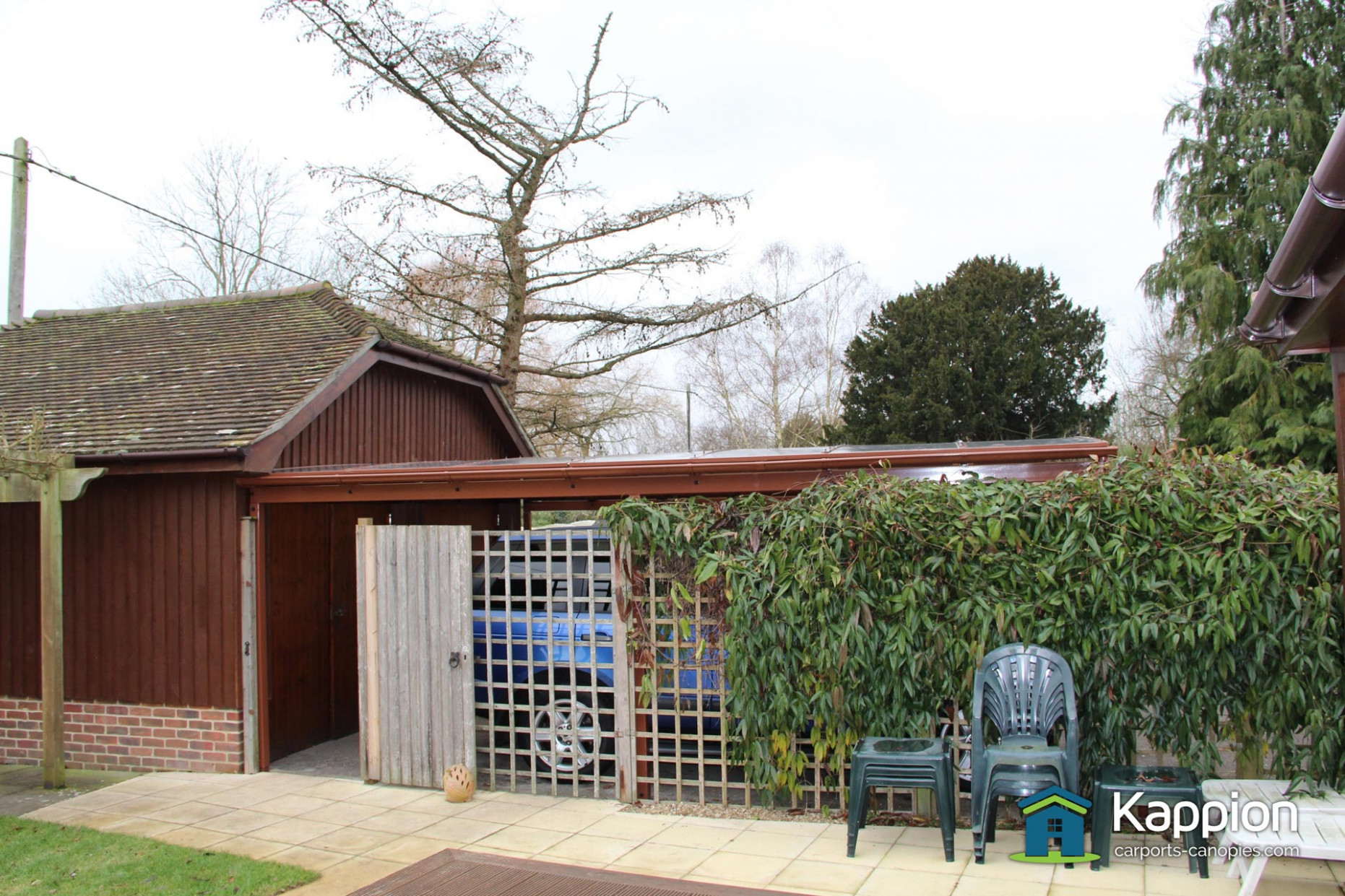 Double Driveway Carport Installed In Salisbury | Kappion ..
