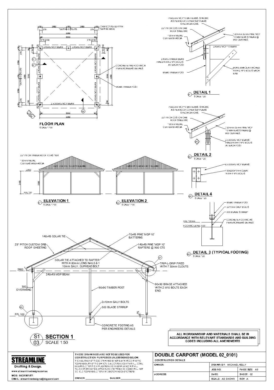 Download Free Carport Plans Building | F Appetizers In 7 ..