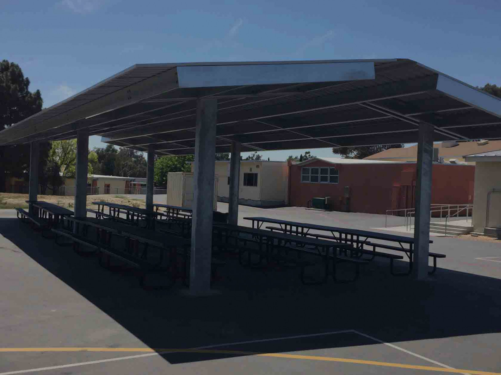 DSA Approved Shade Structures Carport Canopy Height