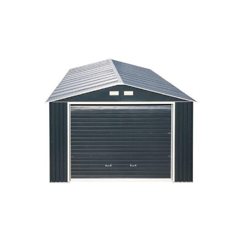 Duramax Imperial 12 Ft. W X 20 Ft. D Metal Garage Shed ..