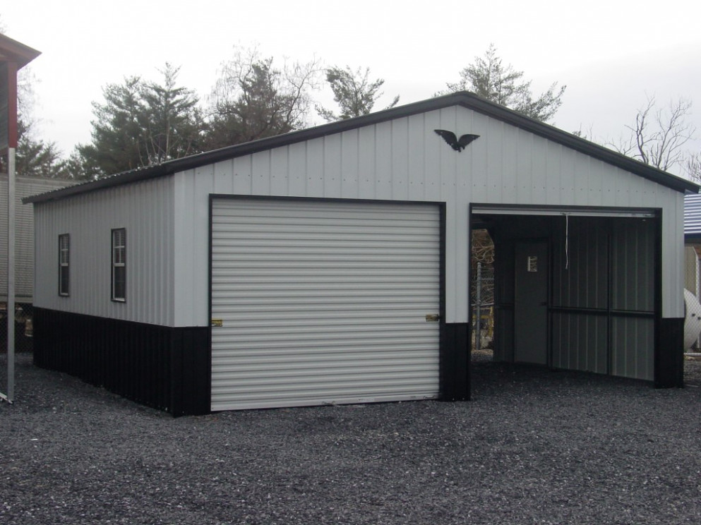 Eagle Carports | Miller's Storage Buildings Eagle Carport Garage