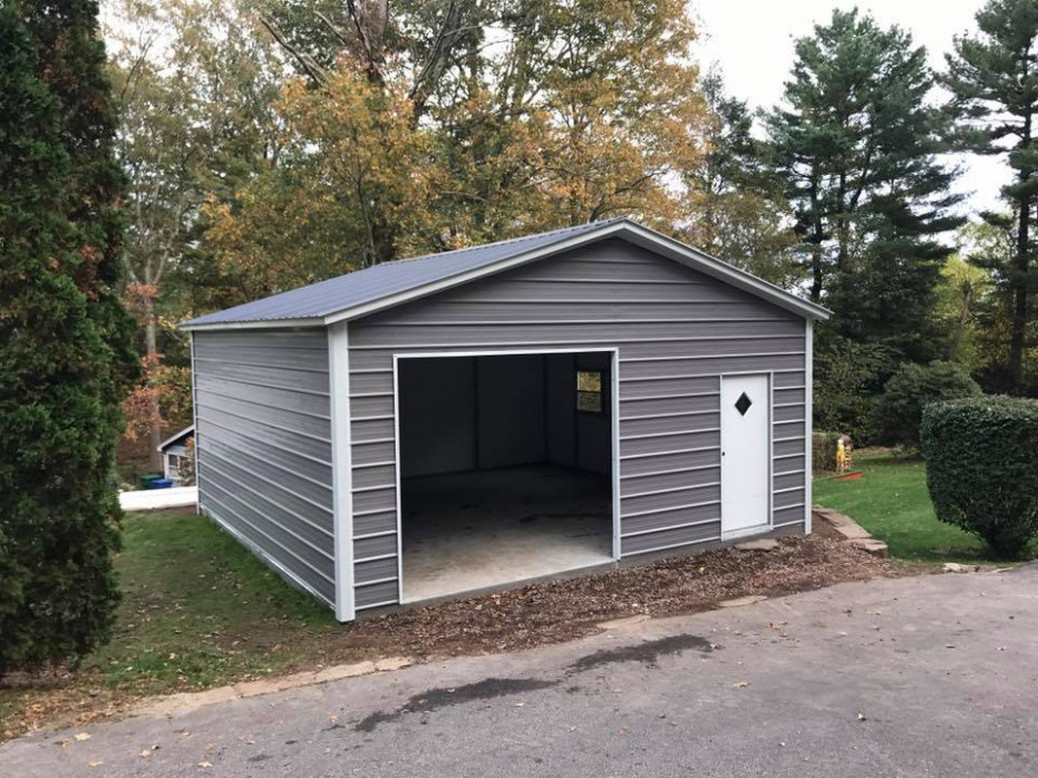 Enclosed Garage Customization Options | Wholesale Direct ..