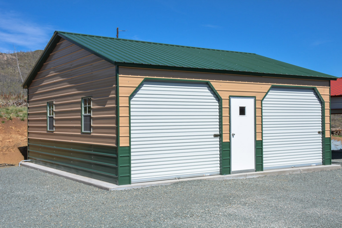 Enclosed Garages Alto Portable Buildings Alto Portable ..