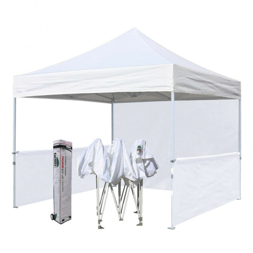 Eurmax Canopy Pro 12x12 Commercial Pop Up Canopy Display Trade Show Fair Booth Fair Parking Carport