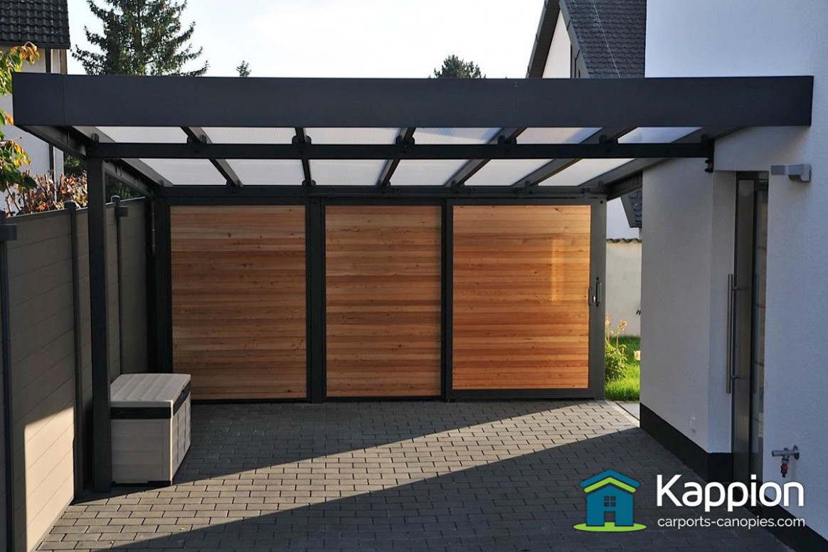 Europort Carport | Contemporary Carport | Kappion Carports ...