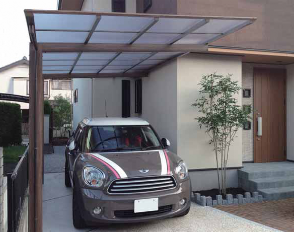 Ever Artport | Covet International Modern Front Carport