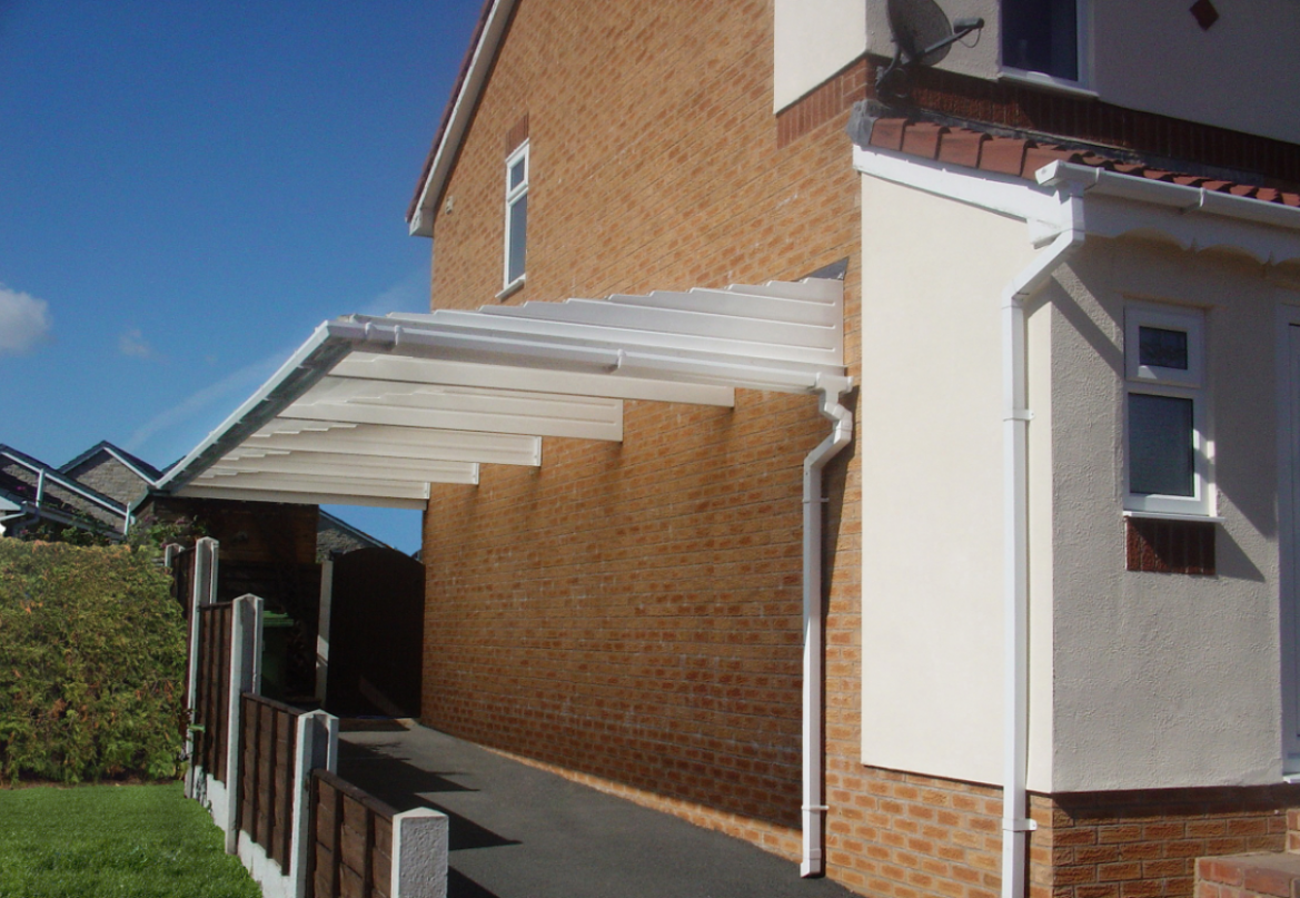 Everything You Need To Know About Carports | Canopies UK Carport Glass Canopy