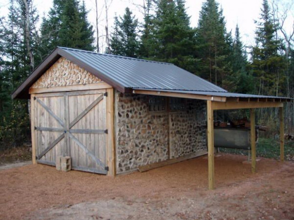 Example Of Lean To For Garage. A Home For The Camper ..